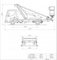 Nissan Cabstar Multitel MT 182 DS