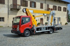 Nissan Cabstar Multitel MJ 201s
