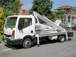 Nissan Cabstar Multitel MX 170